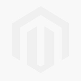 Arctic Sliding Wardrobe 6 Foot Half Mirrored High Shine White
